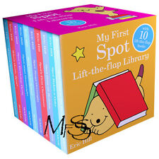 Spot My First Lift the Flap Library 10 Book Set  *  Eric Hill