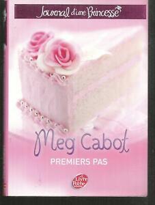 Journal d'une princesse 2 - Premiers pas .Meg CABOT.Livre de poche Jeunesse LJ8