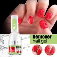 15ML Magic Nail Polish Remover Burst Gel Fast Remover Soak Off Nail Cleaner