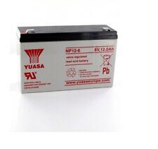 Batteria al piombo YUASA 12V 17AH codice NP1712 ricaricabile allarme