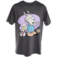 Rocko's Modern Life T-Shirt, 90's Nickelodeon Graphic Tee, Men's L , Vintage VTG