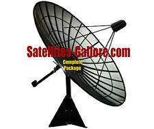 C-Band Prime Focus Mesh Satellite Dish Package (10ft / 3.0m)