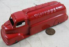 Vintage 1940's Die Cast Tootsietoy 6� Shell Tanker Truck Restored