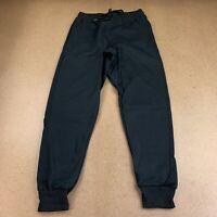 DOU New York Women's Size Small Black Zipper Pockets Drawstring Jogger Pants NWT