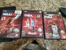 NBA 2K12 NBA 2K13 and NBA 2K14 PC Bundle - PRE-OWNED IN GREAT CONDITION