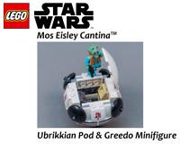 LEGO Star Wars New Ubrikkian Pod & Greedo Minifigure - 75290