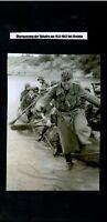 WW 2 Russland Überquerung der Shisdra bei Gretnja am 16. 08.1942 Panzer P.K. 693