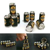 10Pcs Mini Beer Bottle Cans DIY Miniature Dollhouse Food Beach Toy AU Model J3E1