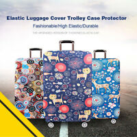 Honana Scenery 18-32'' Elastic Luggage Bag Trolley Protector Travel Accessories