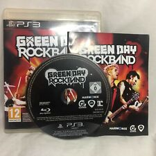 Green Day: Rock Band PS3 (Sony PlayStation 3, 2010)