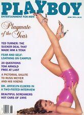 PLAYBOY JUNE 1995 Rhonda Adams Julie Cialini Neriah Davis Shannon Tweed RC RipCF