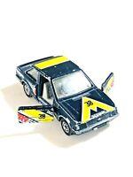 Corgi Model Ford Escort Duckhams QXR 1980's Die Cast vintage