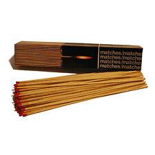 360 4 Boxes! Extra Long Matches Woodburner,logburner,multi fuel stove,BBQ,Fire