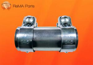 Auspuff Verbindungsrohr Rohrverbinder Universal Audi VW uvm. Ø50mm 54,5 x 125mm