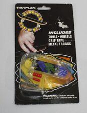 Rare Finger Skateboard Digit Deck Variflex Assault Series Heavy Metal Logo 1999