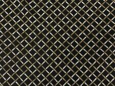 Chopstick Check Black Michael Miller Fabric FQ or More 100%Cotton
