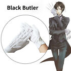 Black Butler Sebastian Michaelis Cosplay Prop White Gloves