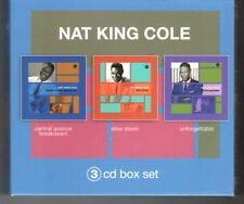 (HQ79) Nat King Cole, 3 CD Box Set - 2004 CD set