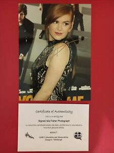 Isla Fisher Hand Signed 8x6 Photograph Autograph With COA