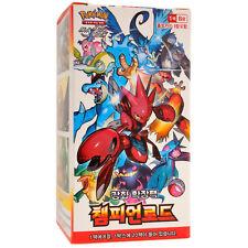 Pokemon Cards TCG Sun Moon Champion Road SM6b Booster Pack 1 Display Box Korean