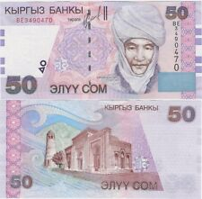 Kyrgyzstan 50 SOM 2002 P-20 NEUF UNC Uncirculated Banknote