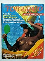 IL FOTOGRAFO N. 86 GIUGNO 1984 ANTONIO SAGGESE-GIOVANNI ZILIANI-MARIANO FORTUNY
