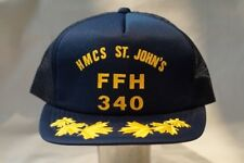 Canadian Navy RCN HMCS St Johns FFH 340 Baseball Hat