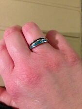 Fire Opals Band Fine Rings