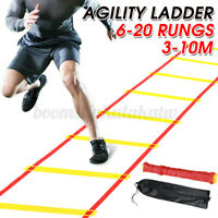 Agility Speed Training Ladder Fitness Football Footwork Workout Exercise w/ Bag
