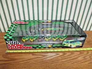 John Deere #97 Chad Little 6-Piece Commerative Set With Transporter 1/64th Scale