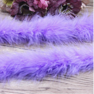 2/10/50yard Marabou Feather Dance Festival Party Clothing Wedding Decoration