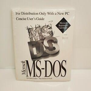 Vintage Microsoft MS-DOS Full Version NIP