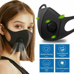 3 x Washable Face Mouth Masks washable Protection Filter Fast Breathable Mask