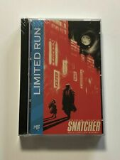 Snatcher Limited Run Games Official Sega CD Case Soundtrack OST Cassette - NEW