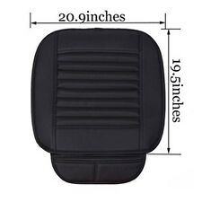 Breathable Bamboo Charcoal Auto Seat Cushion Cover Full Surround Seat Pad Novel