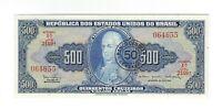50 Centavos / 500 Cruzeiros UNC Brasilien 1967 C119 / P.186 - Brazil Banknote
