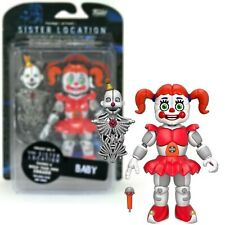 "Five Nights At Freddy's BABY Articulated 5"" Action Figure with ENNARD Head FNAF"