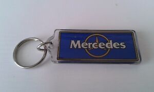"Very Beautiful Unused Mercedes key holder approx. 2 1/2"" X 1 1/8"""
