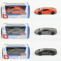 Bburago 1:43 Scale Diecast LAMBORGHINI Collectable Street Fire Model Car