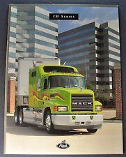 1996-1997 Mack Truck Model CH Catalog Sales Brochure Excellent Original