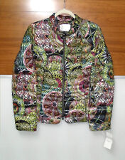 European Designer Quilted Down Puffer Coat Jacket Made in Germany Sz14 NEW NWT