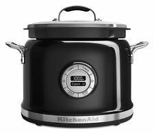 KitchenAid Multi-Cooker KMC4241OB 4-Qt All-in-One Cooking System Onyx Black New