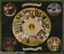 SEVEN DEADLY SINS Religious & Inspirational Rolled CANVAS ART PRINT 28x24 in