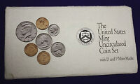 1992 UNCIRCULATED Genuine U.S. MINT SETS ISSUED BY U.S. MINT