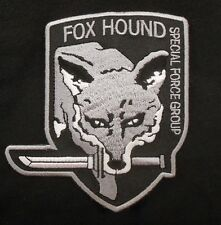 METAL GEAR SOLID FOXHOUND FOX SPECIAL FORCE SWAT BLACK OPS VELCRO® BRAND PATCH
