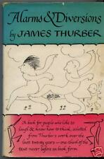 ALARMS & DIVERSIONS JAMES THURBER 1ST EDITION