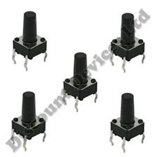 5x 6x6x8mm Momentary Tactile Mini/Micro/Small PCB Push Button Switch SPST
