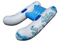 NEW Rave Water Recreation Catamaran Style Inflatable Aqua Buddy Trainers