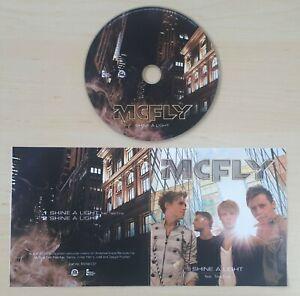 MCFLY Featuring TAIO CRUZ Shine A Light 2010 UK 2-track promo CD