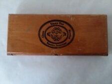 "Empty Cigar Box Clase Mundial Wood Republicas Dominicana 7 1/2"" x 3"" x 1"" Petite"